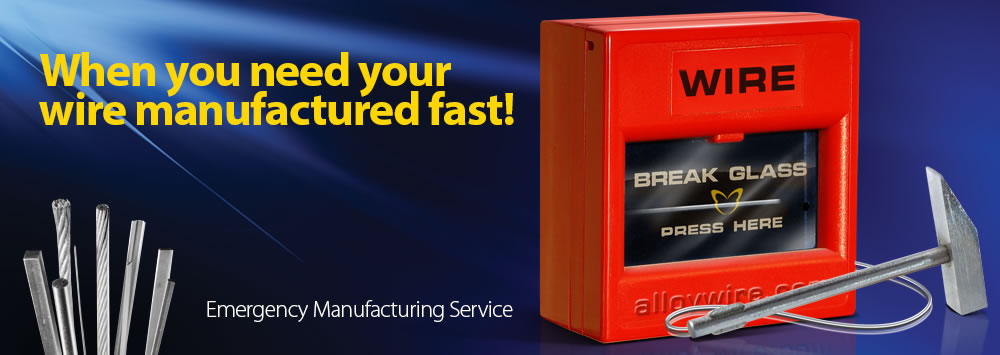 Emergency Manufacturing Service