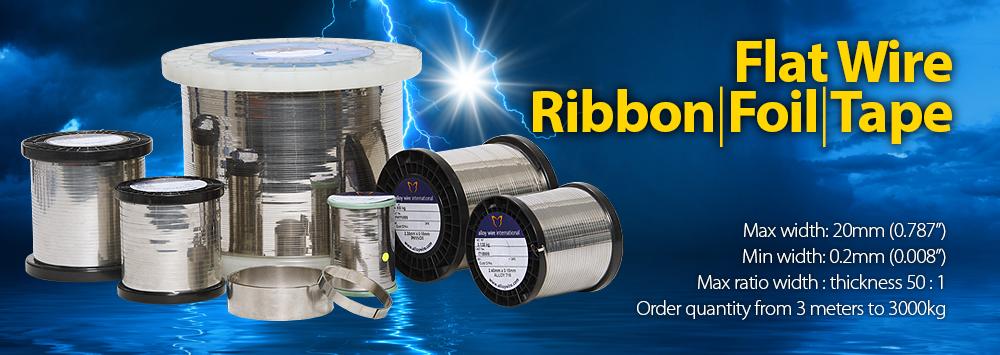 Flat Wire – Ribbon / Foil / Tape