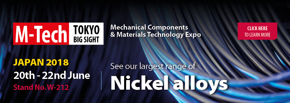 See our largest range of Nickel alloys at M-Tech