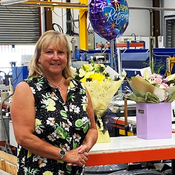 AWI Janet 30 years of wire FEATURE Janet set for retirement after nearly 30 years of producing wire in the Black Country