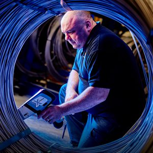 AWI 0665 Bob Jones – PMI test on rod coil@72dpi 300x300 1 Testing Times