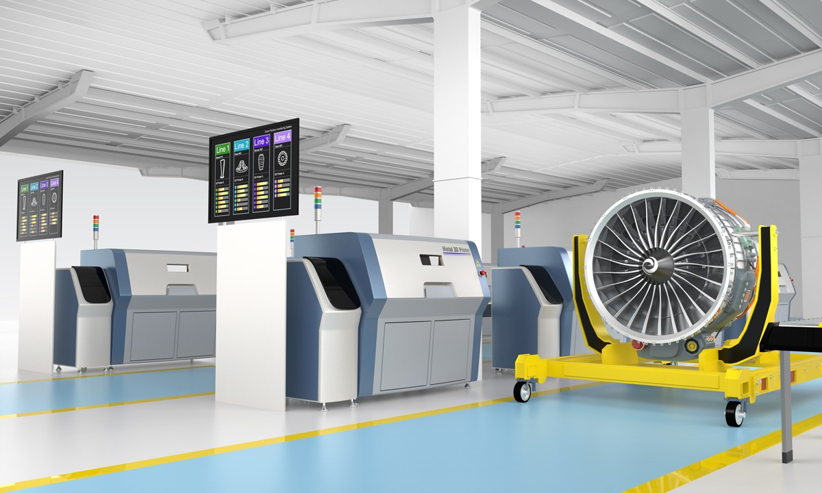 additive manufacturing shutterstock 308783615 Sectors