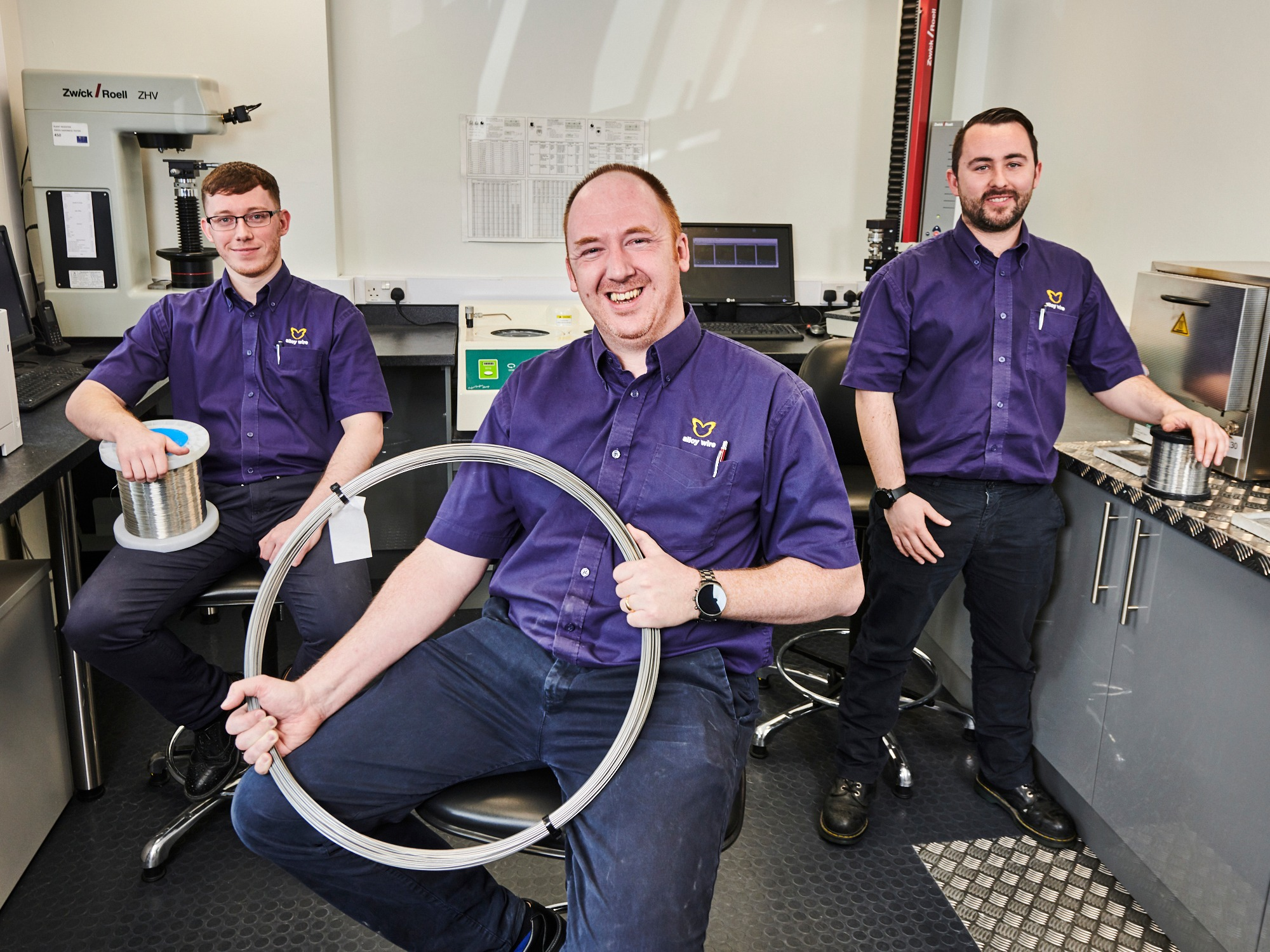 AW Testing Room article support image Testing boost for AWI following £100,000 investment