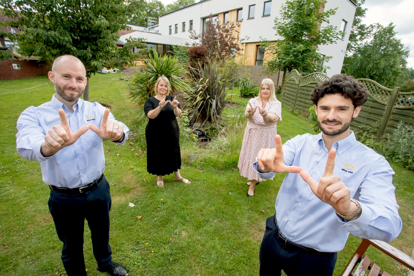 Mary Stevens L2 £7,500 boost for Mary Stevens Hospice as it becomes first beneficiary of 'Wired for Good' campaign