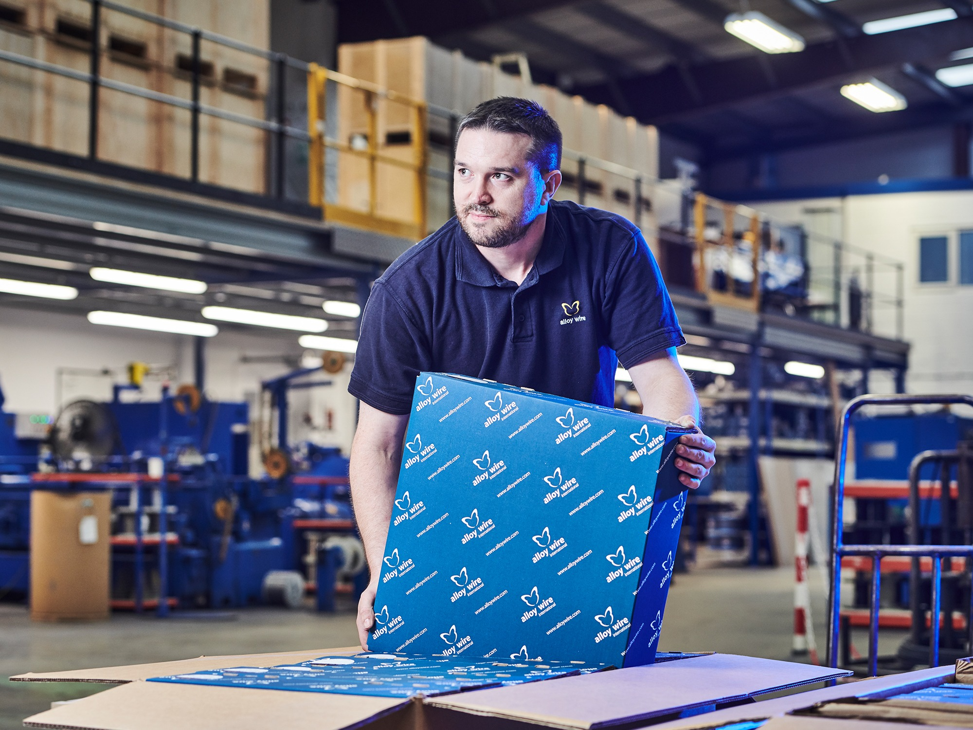 AWI The Times web pics Despatch Local touch keeps wire specialist going strong