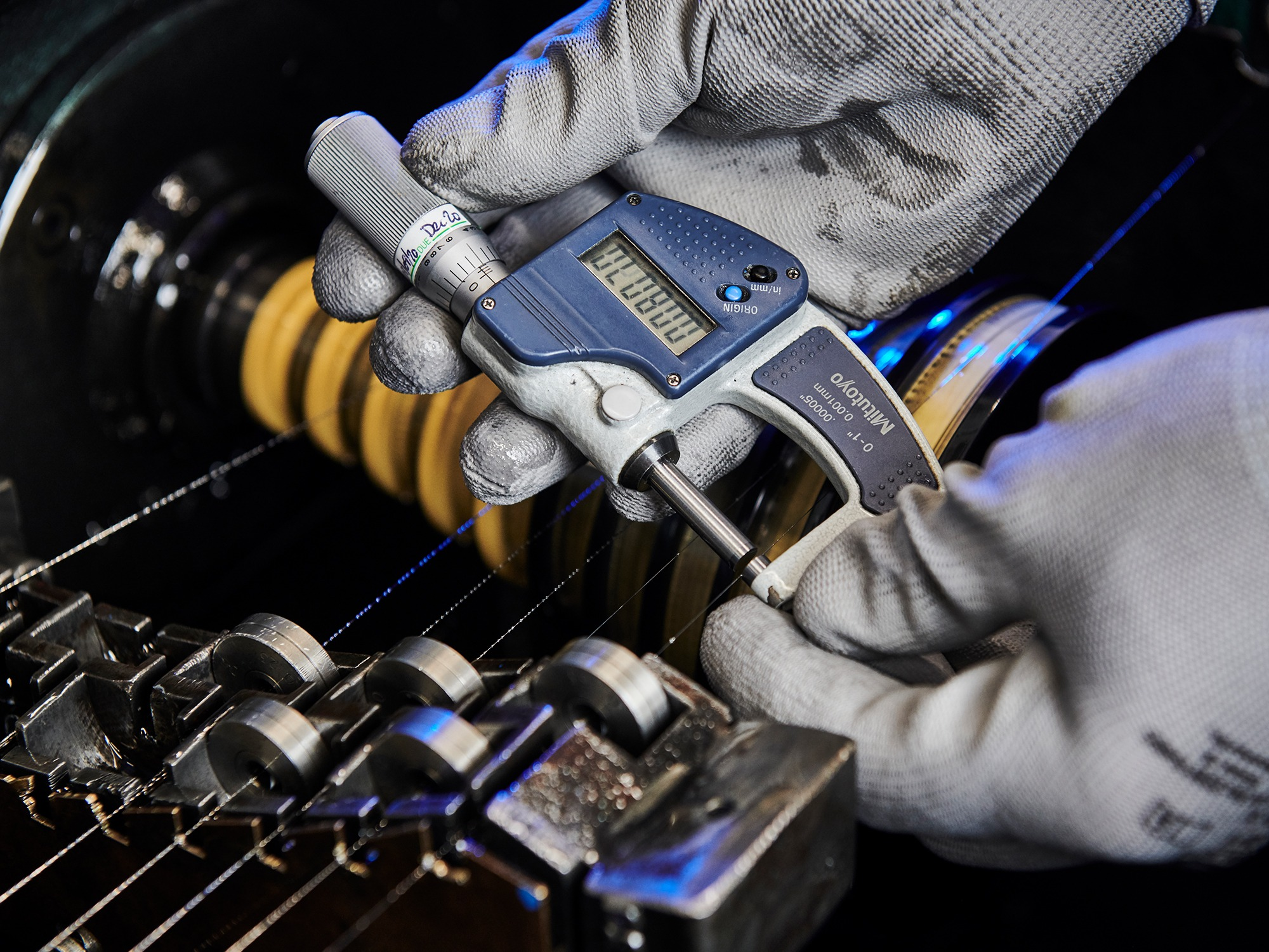 AWI The Times web pics Manufacturing Close up Local touch keeps wire specialist going strong