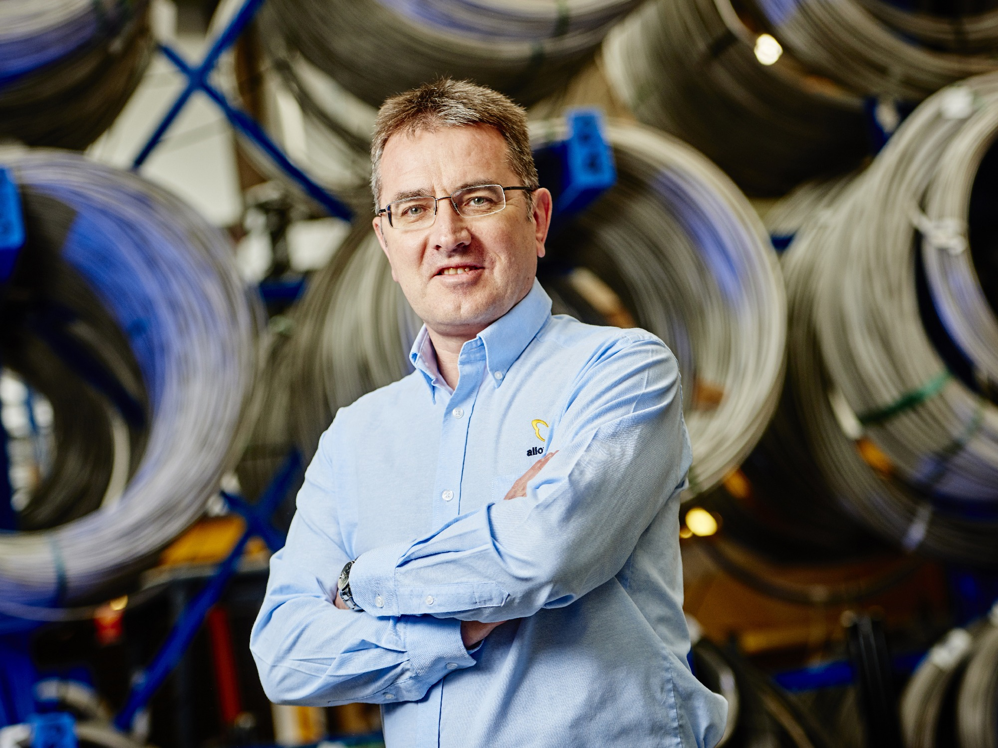 AWI The Times web pics Mark V Local touch keeps wire specialist going strong